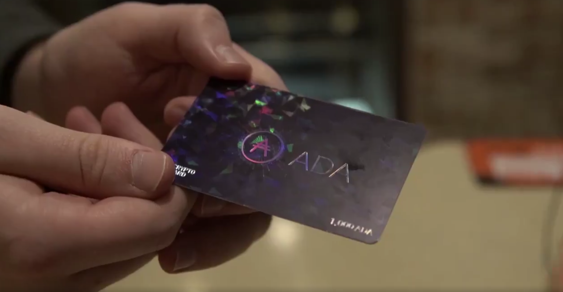 how to use ada crypto card