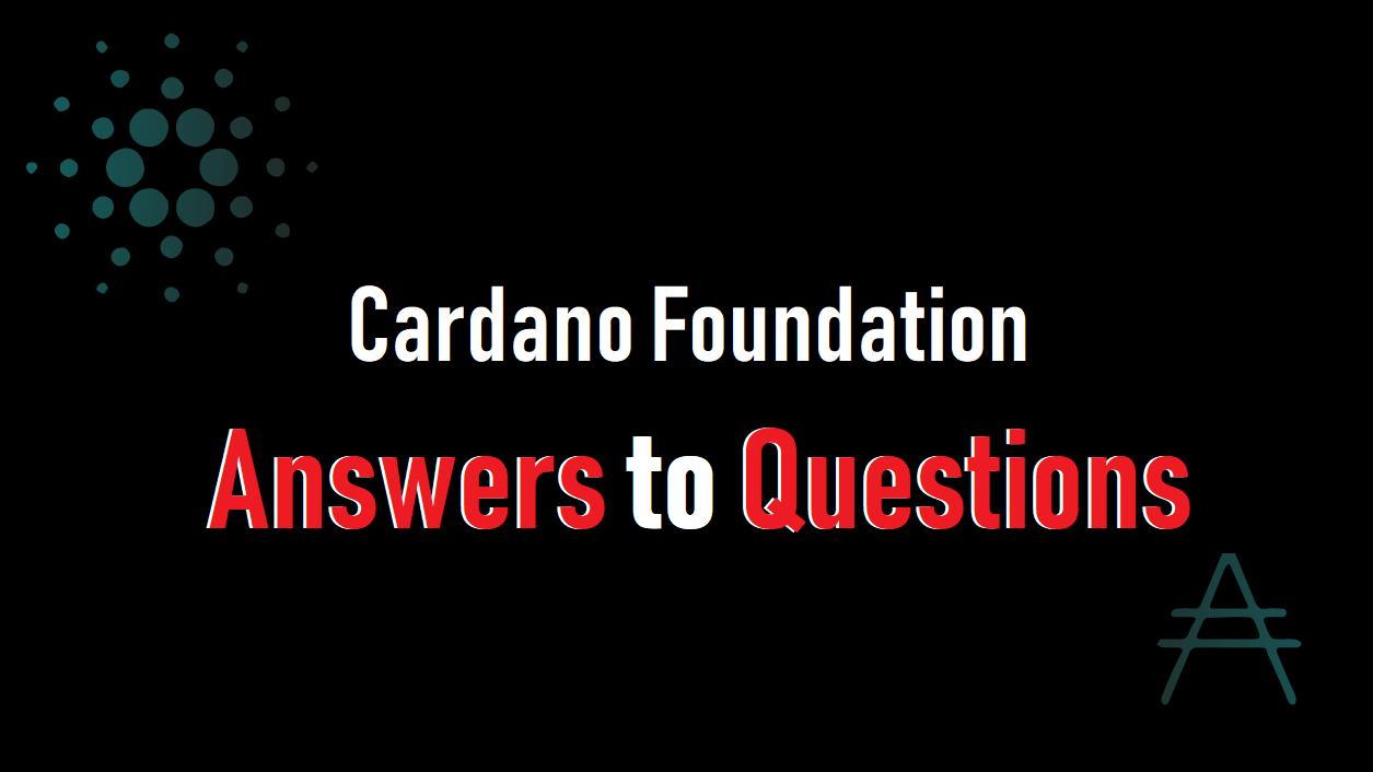 カルダノ財団に関する質問への回答を公開!ATMとデビットカード