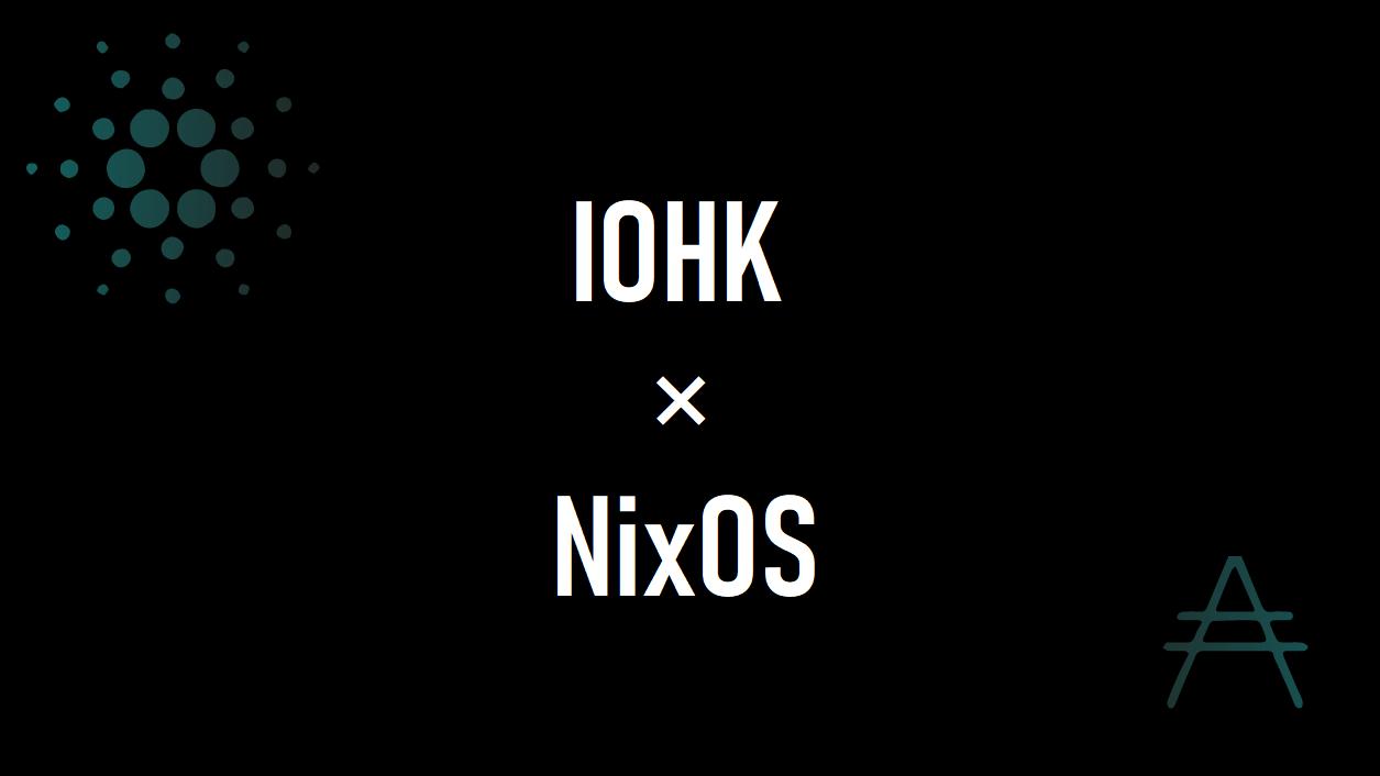 How we use Nix at IOHK