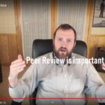 Peer Review(査読)の重要性について語るチャールズ ホスキンソン