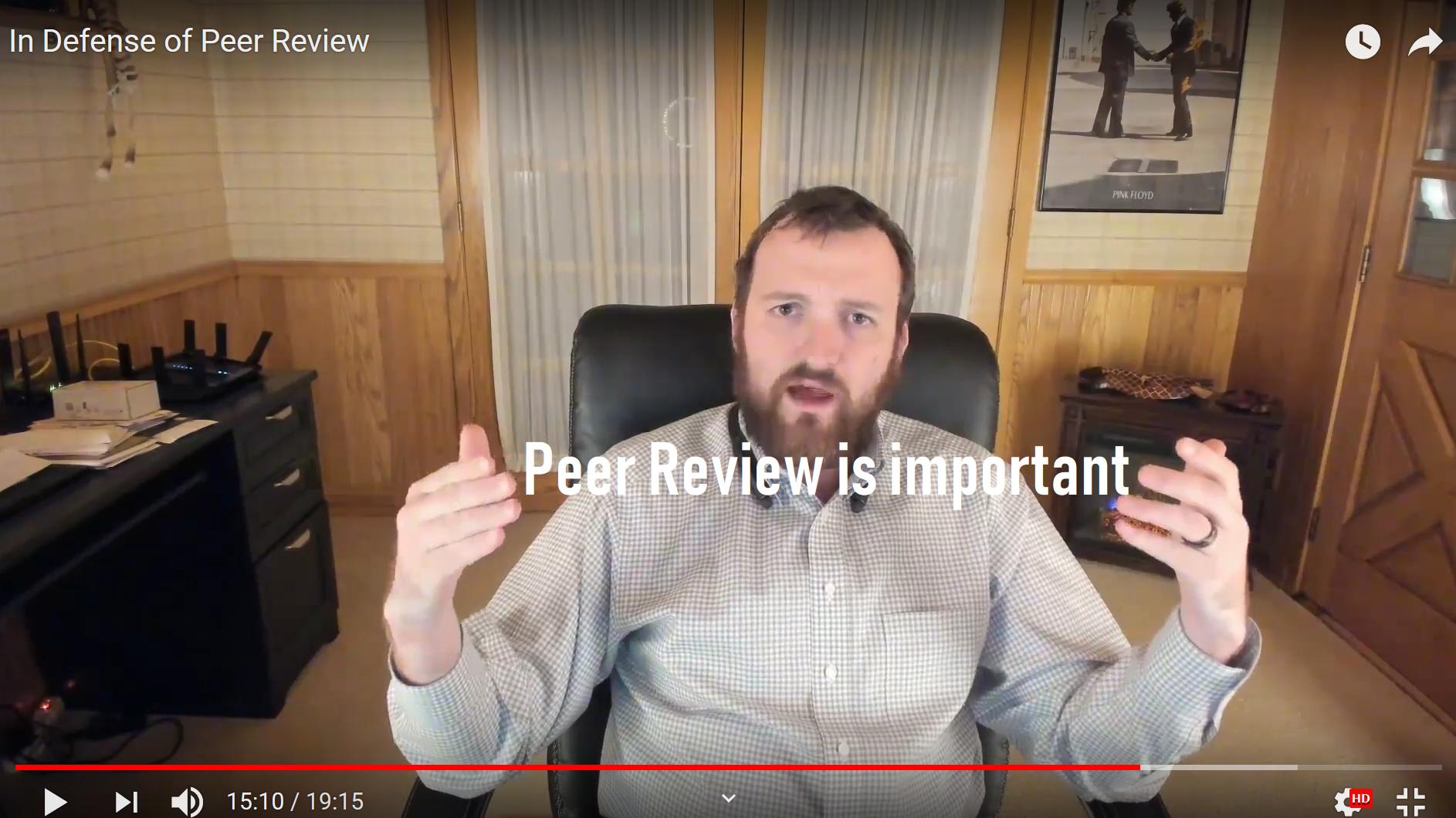 In Defense of Peer Review