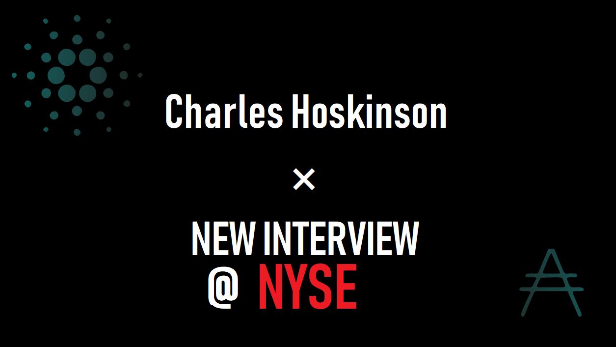 チャールズ ホスキンソン氏 ニューヨーク証券取引所インタビュー