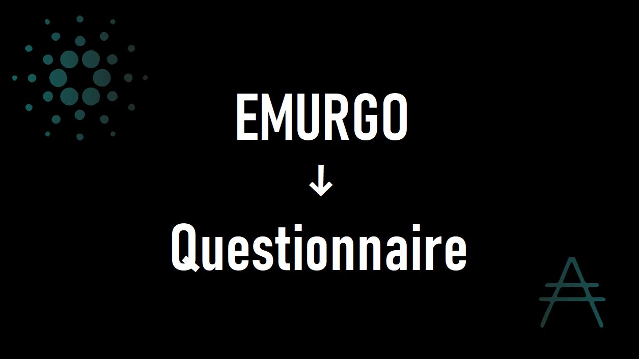 【投票】EMURGOのアンケートの答えよう!皆さんの期待は何!?
