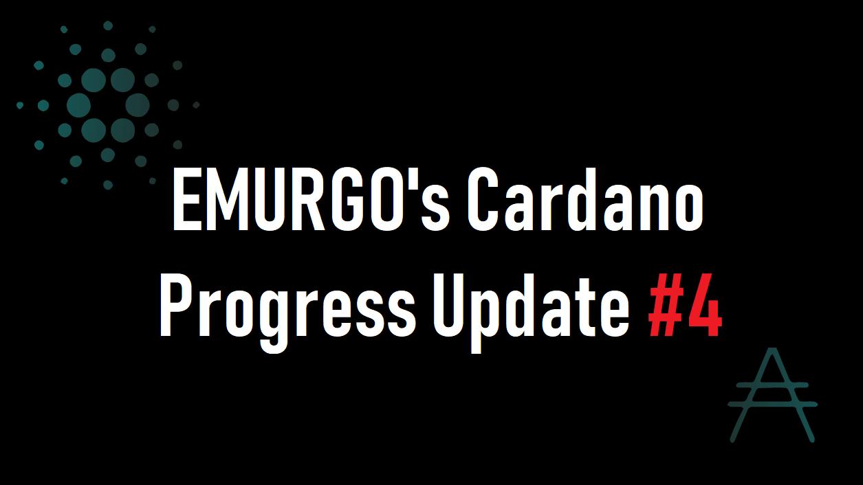 【Briefing #4】EMURGO(エマーゴ)プログレスアップデート動画#4