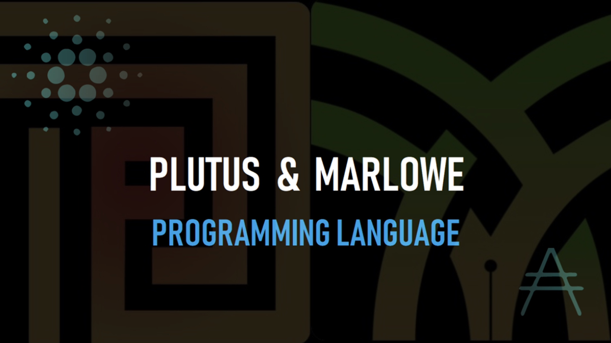 PLUTUS(プルータス)とMARLOWE(マーロウ)プログラミング言語学習!