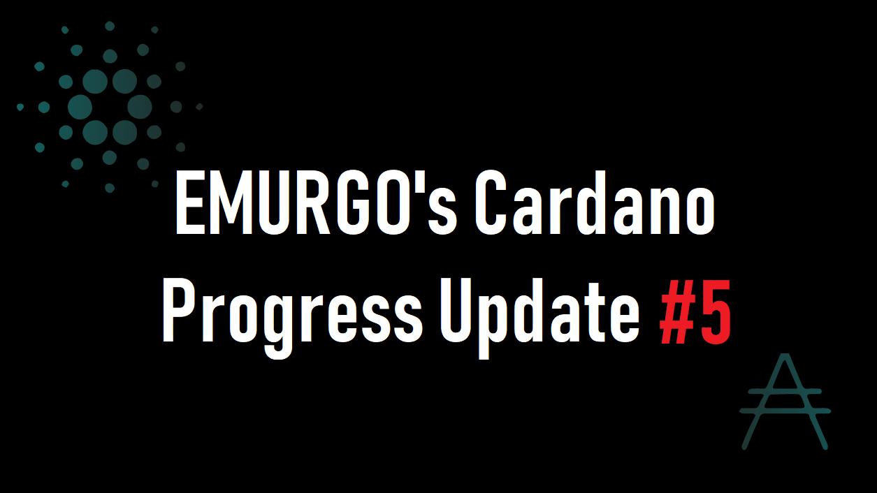 【 Briefing#5】EMURGO(エマーゴ)プログレスアップデート動画#5