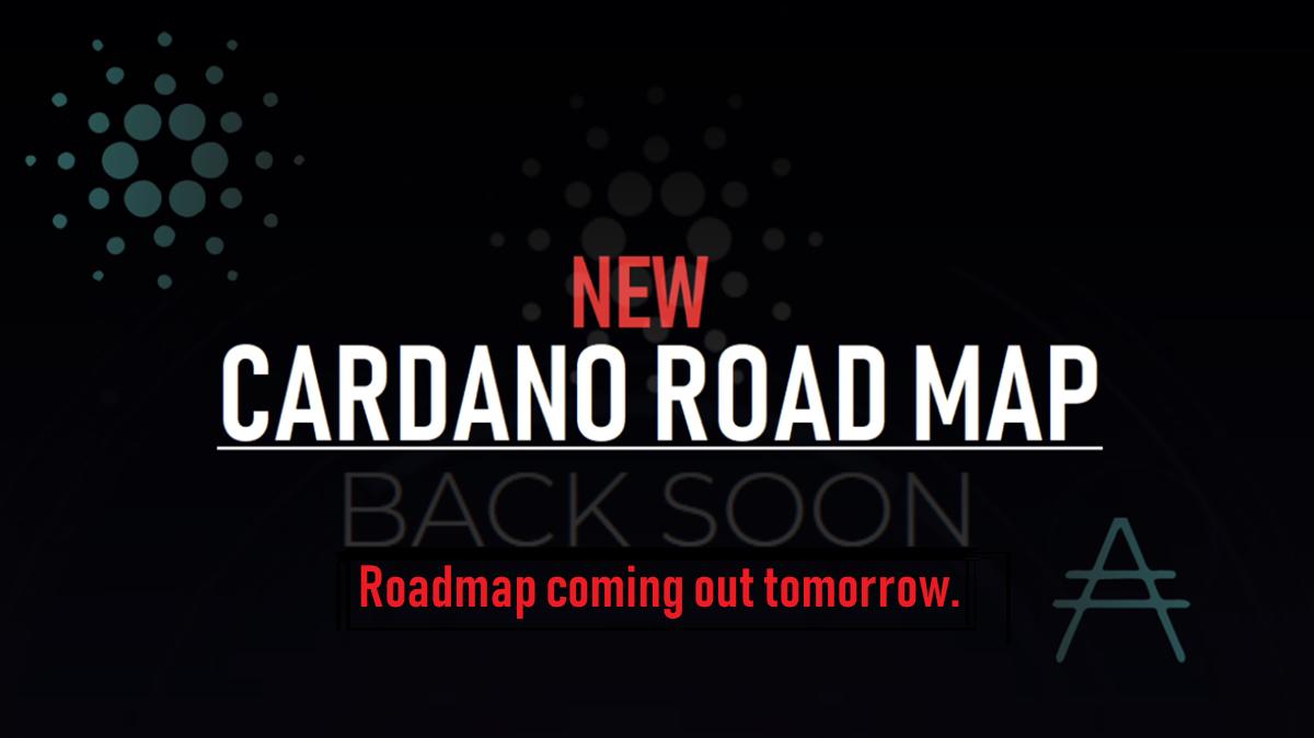 新カルダノロードマップは明日リリース!?公式テレグラムでの発言