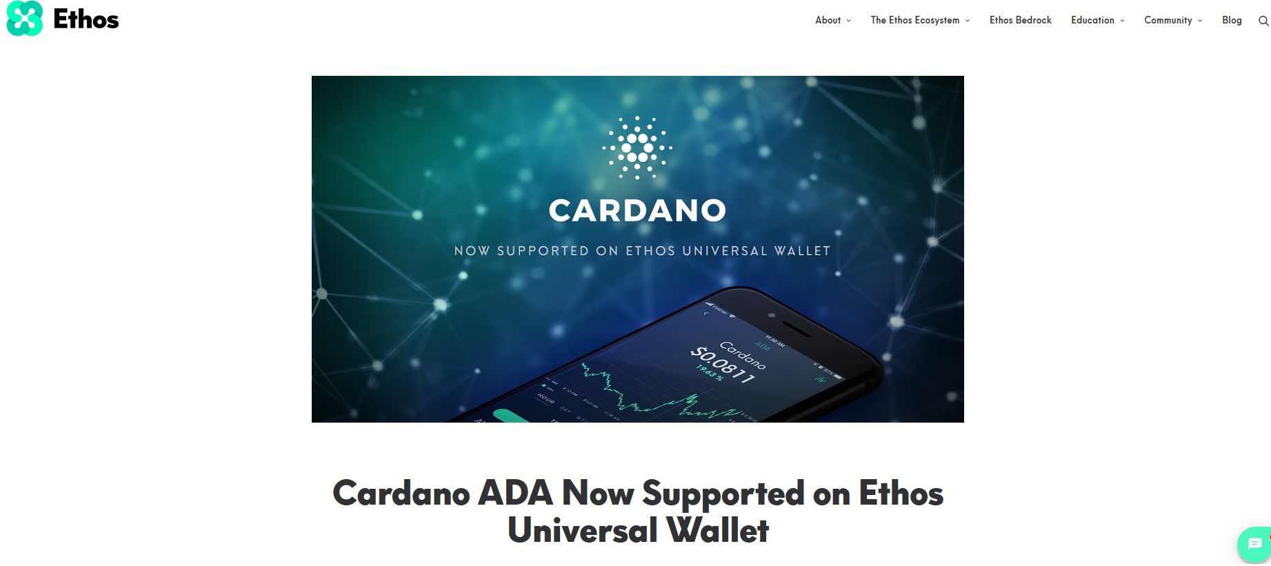 cardano-now-supported-ethos-wallet