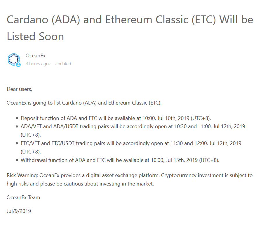 ADA-and-ETC-Will-be-Listed-Soon