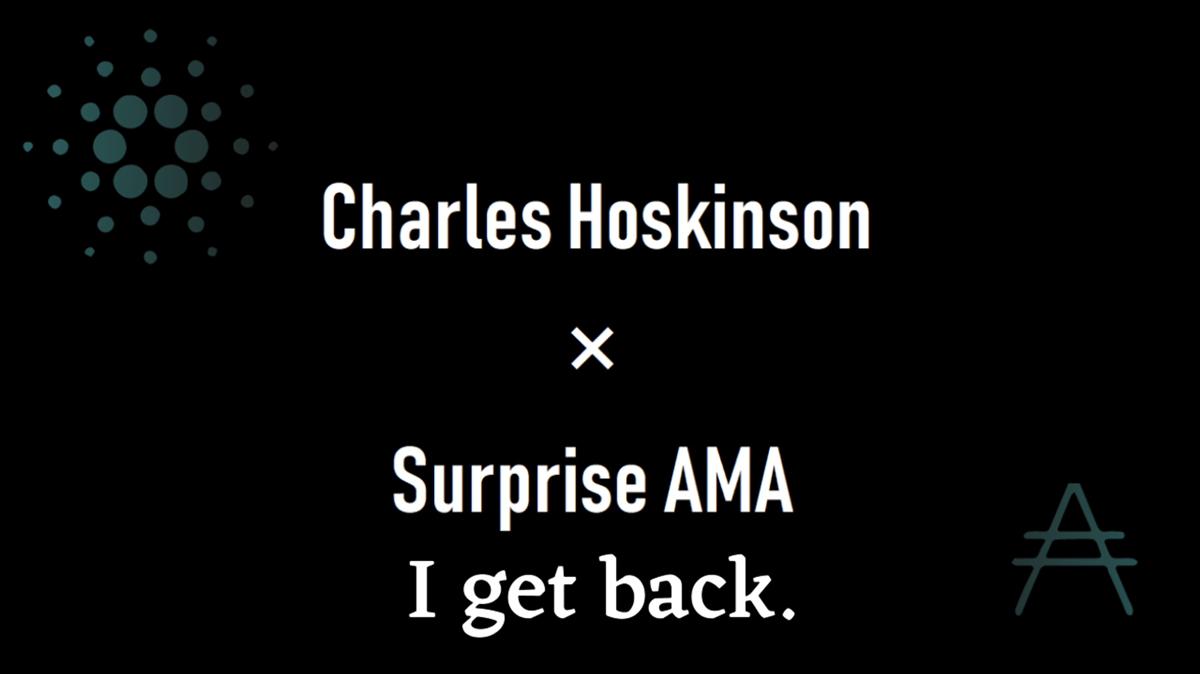 チャールズ・ホスキンソン氏がSNSを少しだけ休止する事を発表!