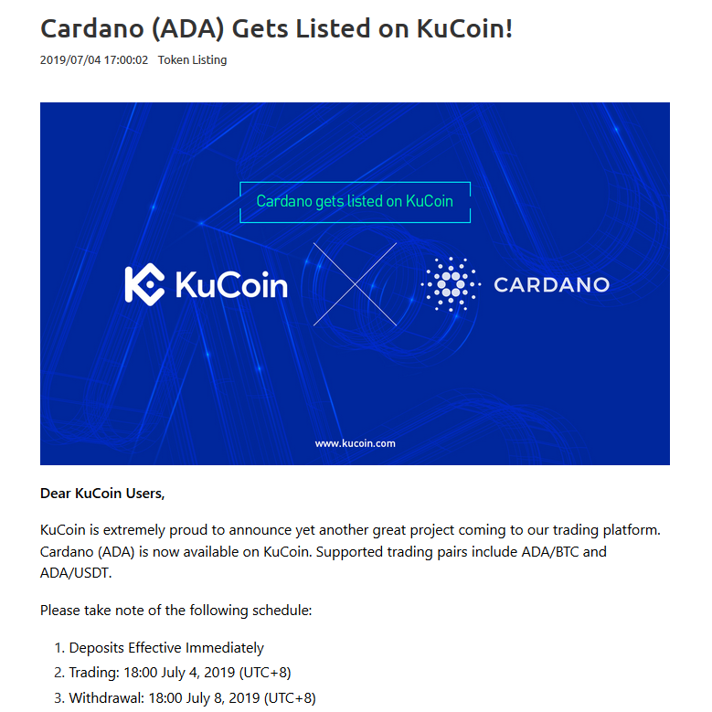 en-cardano-ada-gets-listed-on-kucoin