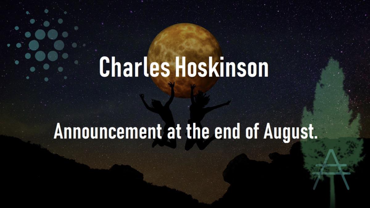 チャールズ・ホスキンソン氏の発表に注目が集まる!まもなく2周年