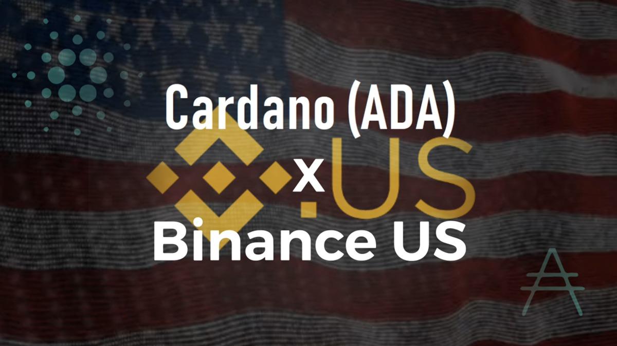 Binance US 米国向けの仮想通貨取引所にカルダノ(ADA)上場!USD