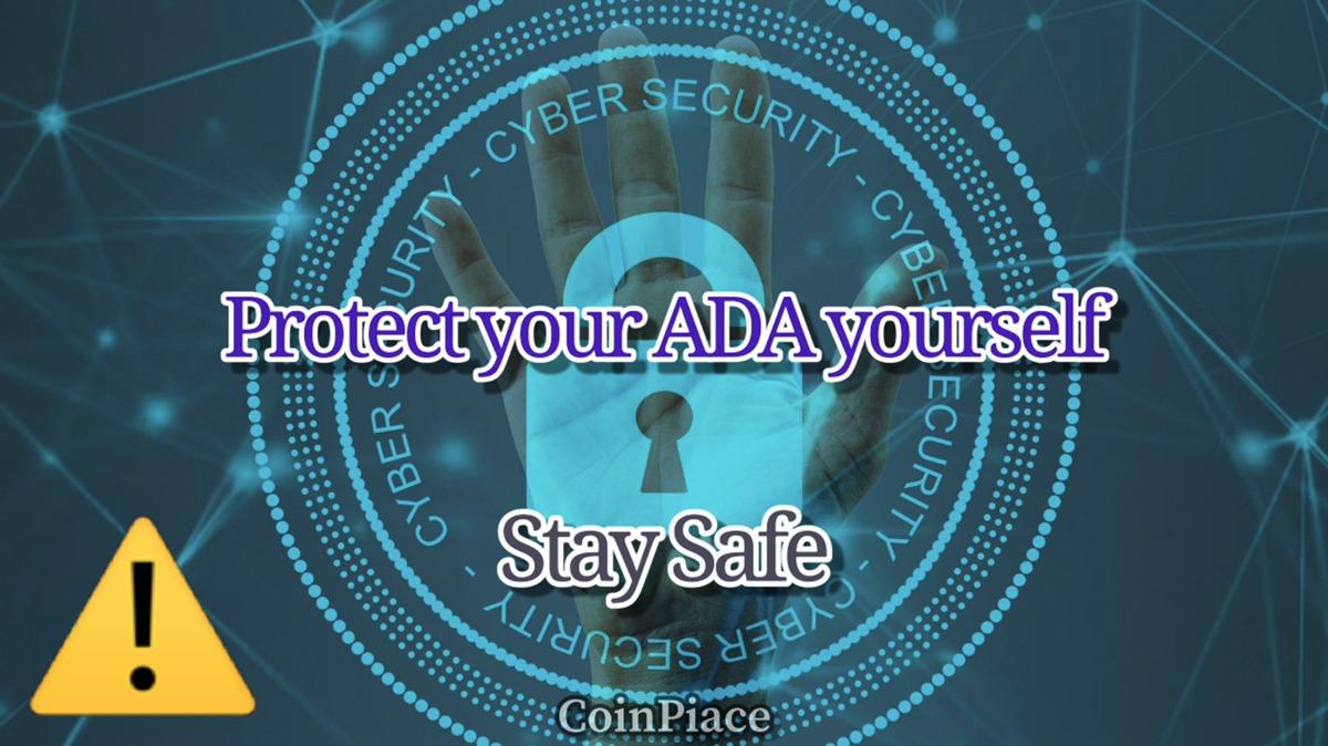 【注意喚起】自分のADAは自分で守ろう!ステーキング前の心構え
