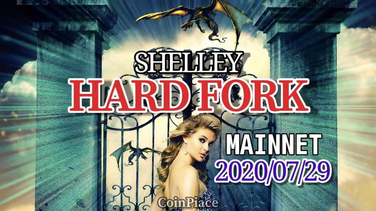 カルダノ(ADA)のSHELLEYハードフォーク日程が決定!2020年7月29日