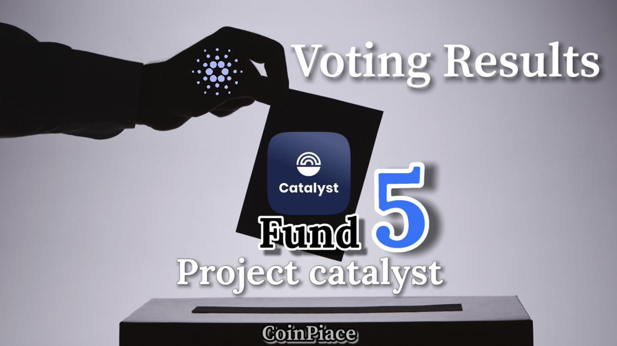 【投票結果】FUND5:資金を獲得した「70」のCardanoプロジェクト
